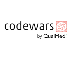 Codewars by Qualified logo