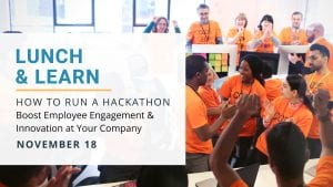Lunch & Learn: How to Run a Hackathon